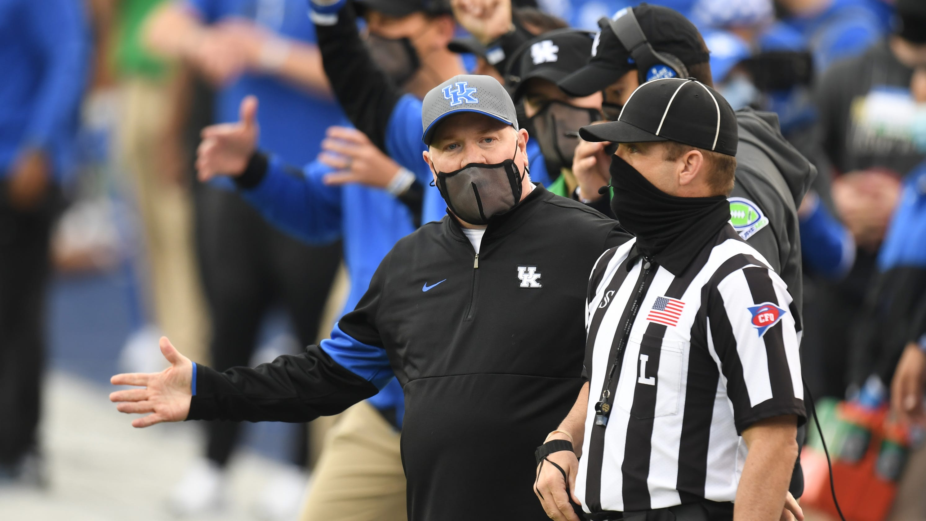 Kentucky football planning to play against Florida despite COVID-19 absences