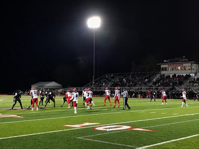 Livonia Churchill hosts cross-town rival Livonia Franklin on Nov. 13, 2020.