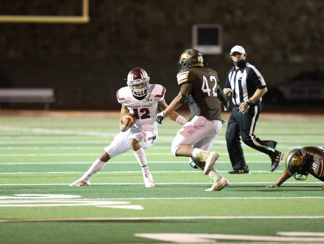 Austin Panthers go against Andress High School Friday, Nov. 13, 2020 at Austin High School in El Paso.