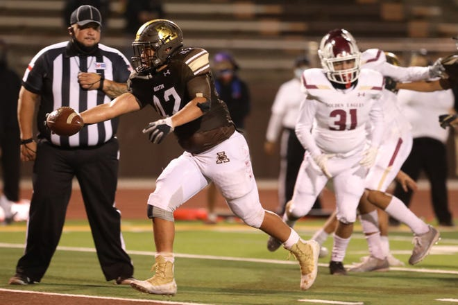 Andress goes against Austin in a District 2-5A, Division II game Friday, Nov. 13, at Austin High School in El Paso.