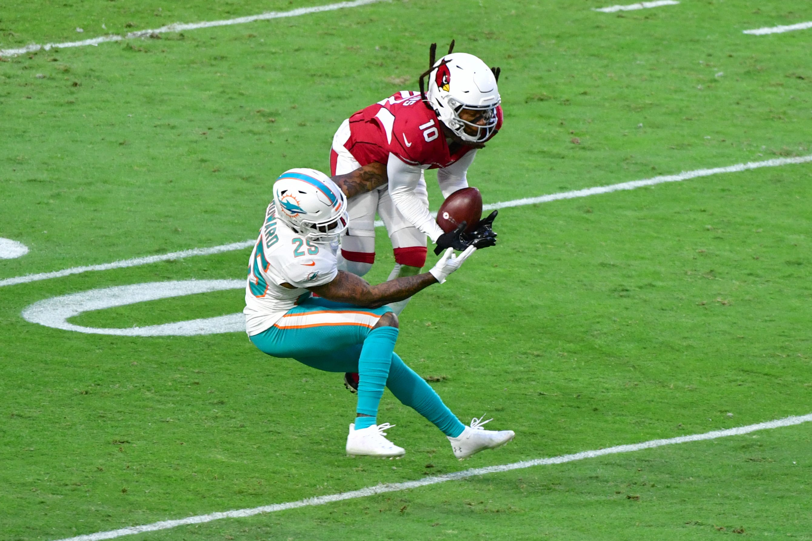 Cardinals WR DeAndre Hopkins wants NFL to count pass interference yards in receivers' totals