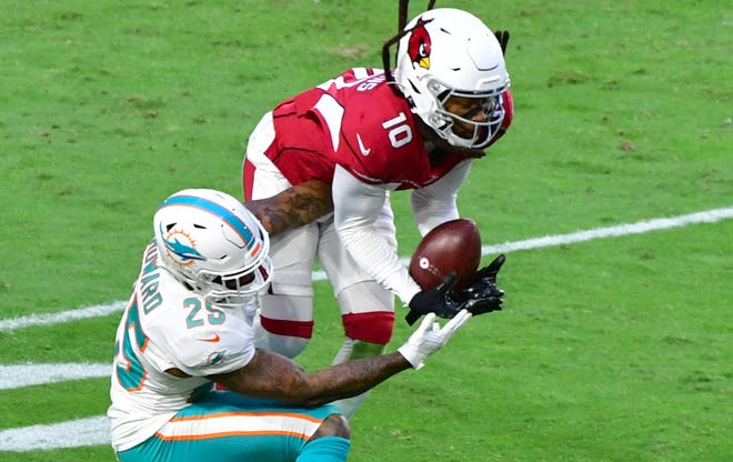How would Miami Dolphins cornerback Xavien Howard fit in with the Arizona Cardinals? Several NFL writers are suggesting Arizona trade for the Miami CB.