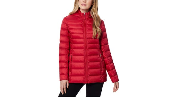 Reviewers found this jacket to fit true-to-size and super lightweight.