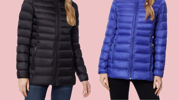 Snag this too-cute puffer on sale at Macy's today.