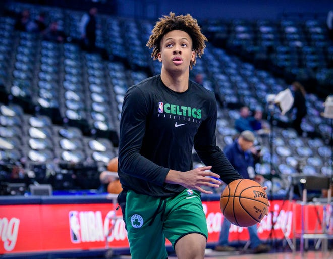 The Celtics chose Romeo Langford with the No. 14 pick in the 2019 NBA Draft. Boston has three first-round picks in this year's draft.