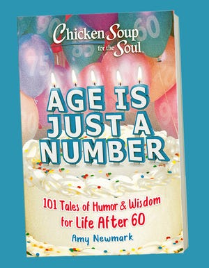The new 'Age is Just a Number: 101 Tales of Humor & Wisdom for Life After 60' volume in the 'Chicken Soup for the Soul' series includes a look at the history of Lewis' Restaurant in Sherburne.