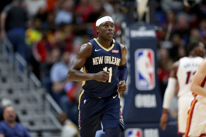 New Orleans guard Jrue Holiday is reportedly high on the Celtics' wish list heading into the NBA Draft.