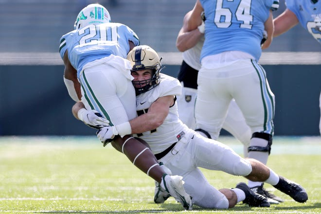 Army takes on Tulane in New Orleans on Saturday.