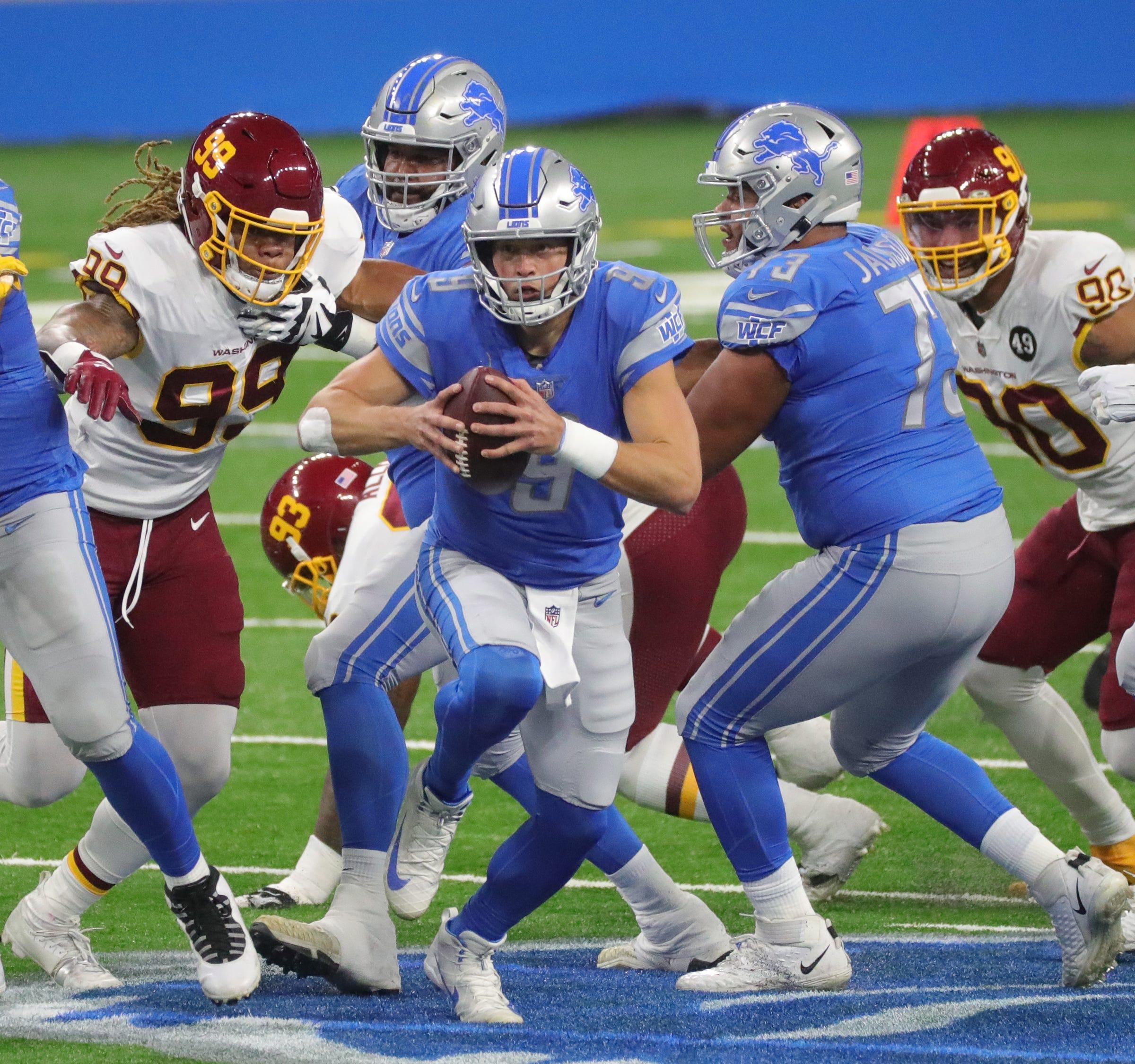 Lions avoid another late collapse, beat Washington on Matt Prater's 59-yard field goal