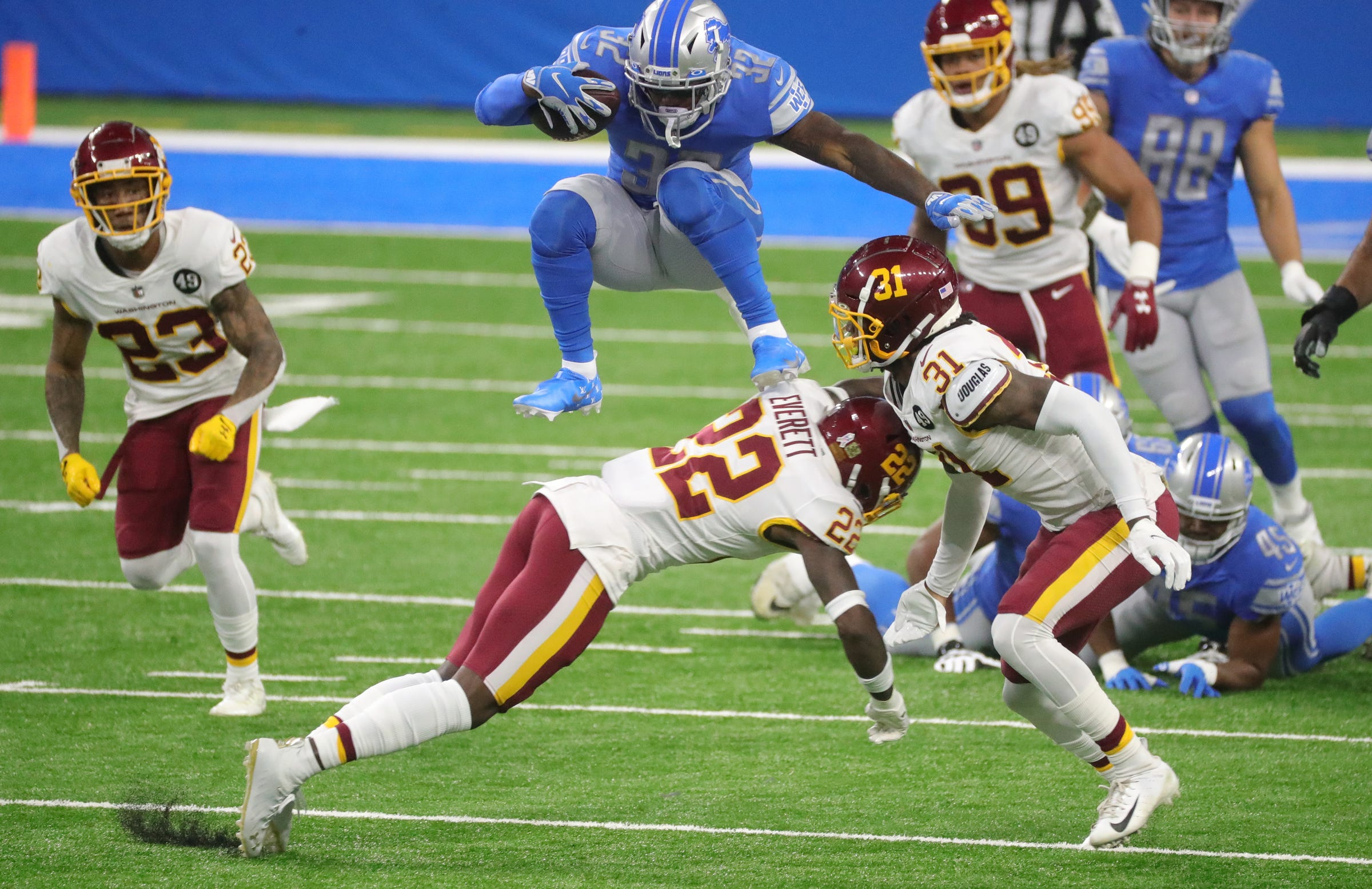 Why Lions' D'Andre Swift didn't tell anyone about his first start