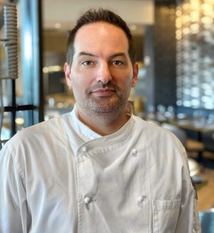 Chef de Cuisine Matthew Mohler oversees the kitchen at Silver King Ocean Brasserie in the Luminary Hotel in downtown Fort Myers.