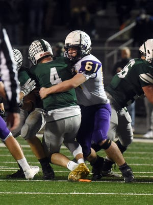 Bloom-Carroll junior defensive lineman is the 2020 Eagle-Gazette Defensive Player of the Year.