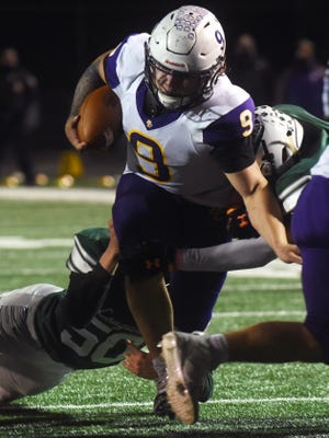 Bloom-Carroll senior running back Hobie Scarberry was named the Mid-State League-Buckeye Division Back of the Year.