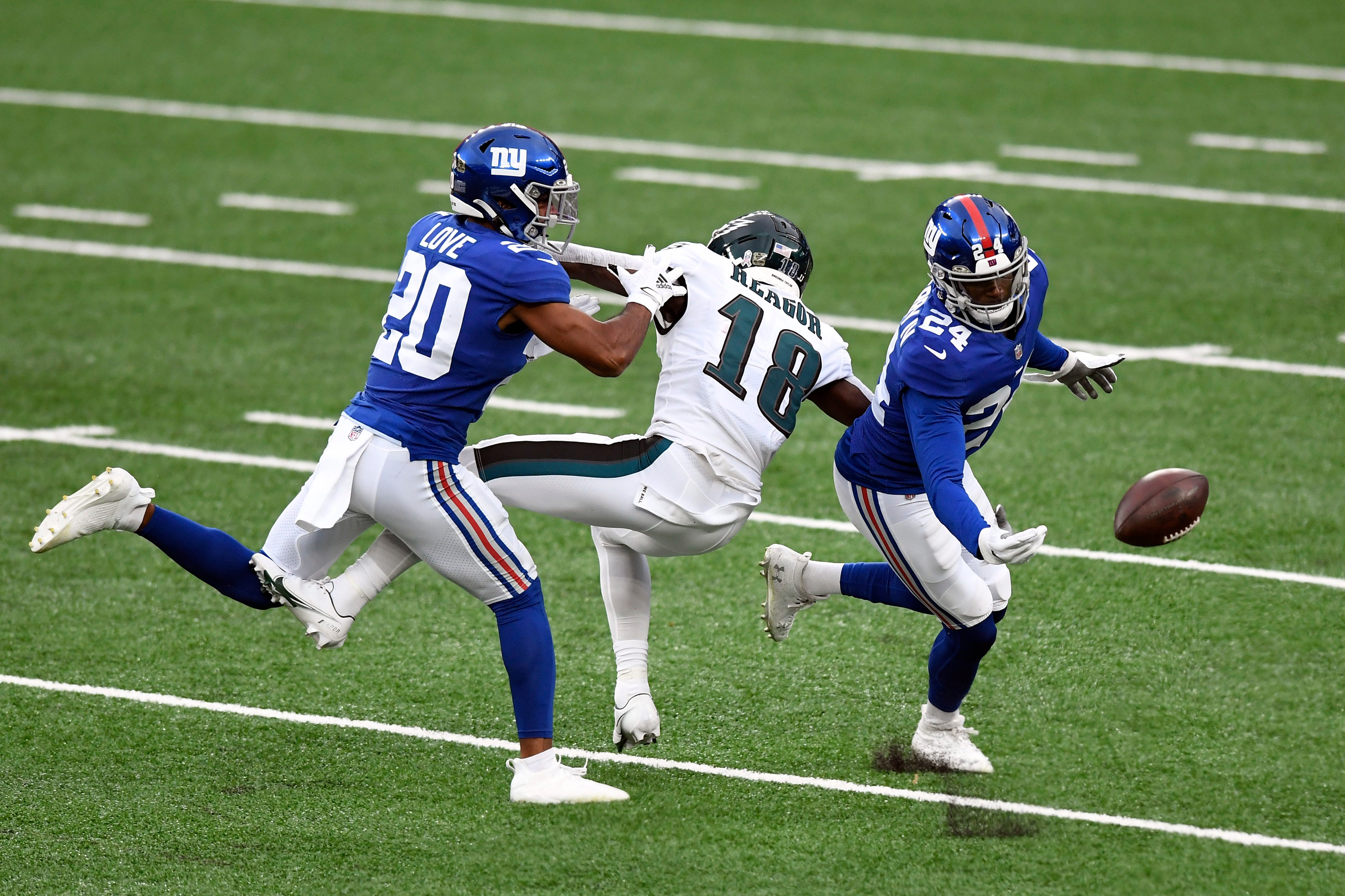 Eagles coach Doug Pederson 'pissed off' after losing to Giants