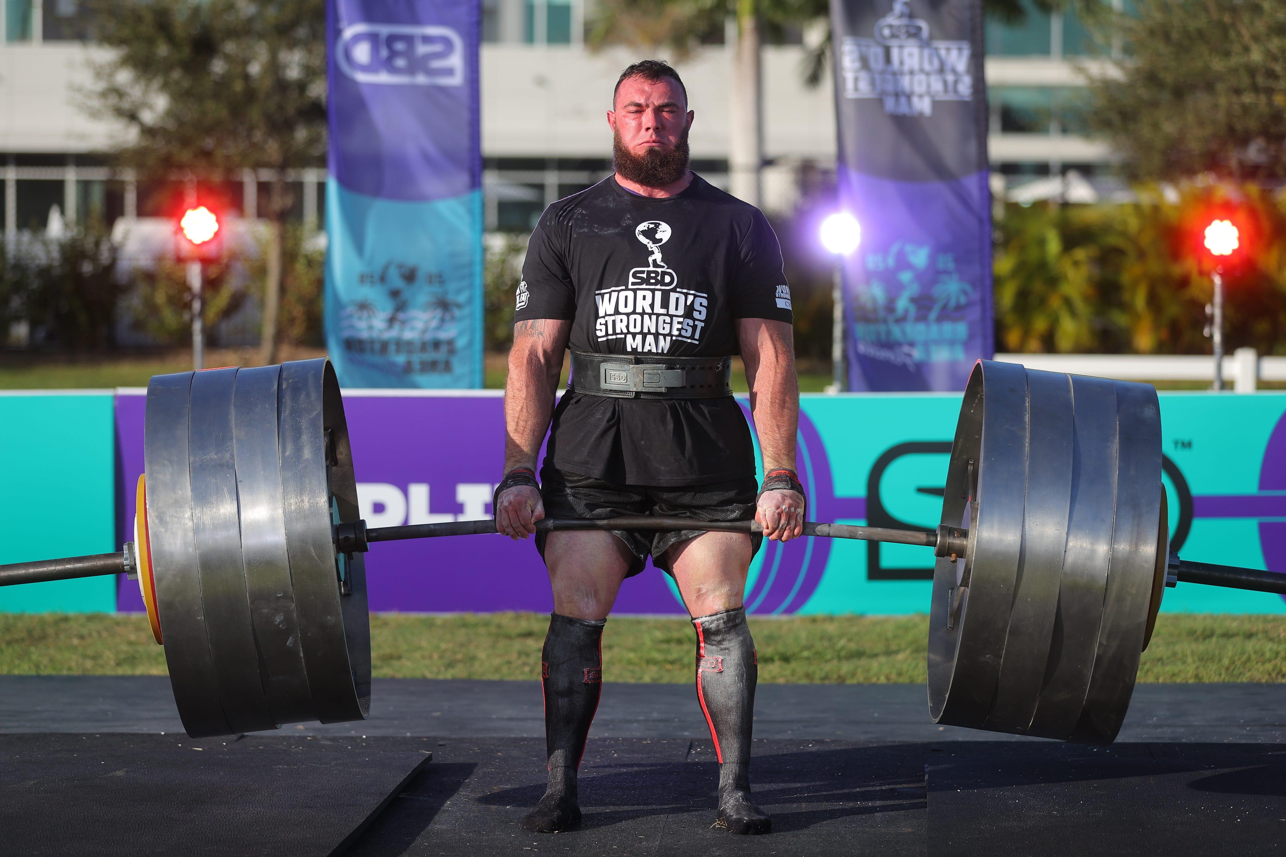 Ukraine's Oleksii Novikov wins 2020 World's Strongest Man after 1,188-pound partial deadlift