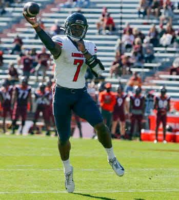 Malik Willis did it all as Liberty cruised past Western Carolina, throwing for 306 yards and three touchdowns on 14-for-19 passing while adding a team-high 97 yards on the ground and two more scores.