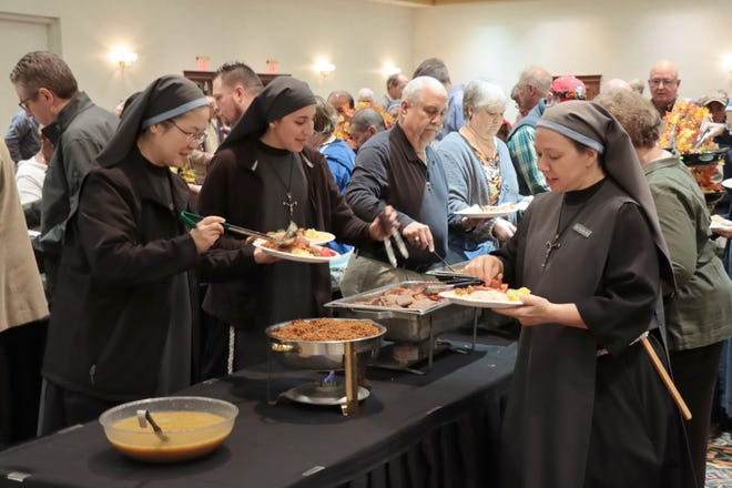This year's Community Prayer Breakfast will be a virtual affair, with viewers being able to tune in at 6 a.m. next Tuesday morning.  [Neil Starkey / For the Amarillo Globe-News]