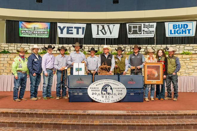 World Champion team Jolly Ranch and S&L Cattle Company won its second straight title at the WRCA 25th World Championship Ranch Rodeo.