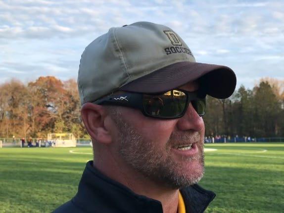 Delran soccer coach Mike Otto.