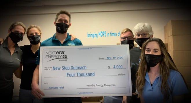 NextEra Energy visited New Step last week.