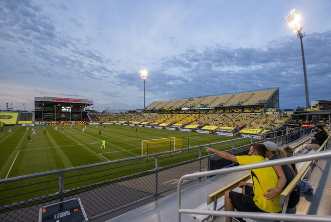 With live attendance at games limited, most Crew fans have to watch them on television or listen on radio.