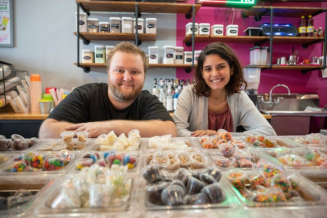 Manager Brandon Carideo and his wife, Stephanie, can be seen behind the counter conjuring up some of the tastiest creations found on social media.