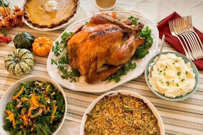 Flagler Beach Mayor Linda Provencher invites residents to sign up for a turkey dinner on Thanksgiving.