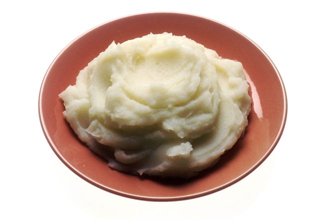 Mashed potatoes are a delicious part of any holiday table.