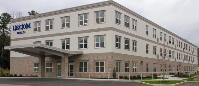 LECOM Health officially opened Parkside at Corry, an independent senior-living facility, on Monday. It cost $8.6 million to build the 39-apartment facility and residents will begin moving in Dec. 1.