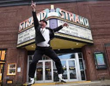 Dan Demers, owner of The Strand Theater in Dover, is hoping for a successful fundraiser.