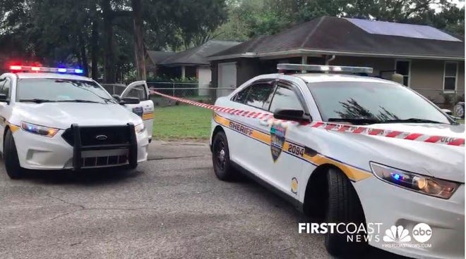 Police investigate the Friday shooting of a 43-year-old man on Firetower Road.