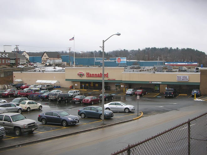 The Hannaford supermarket in Gardner is located at the spot of the former Giant Store.