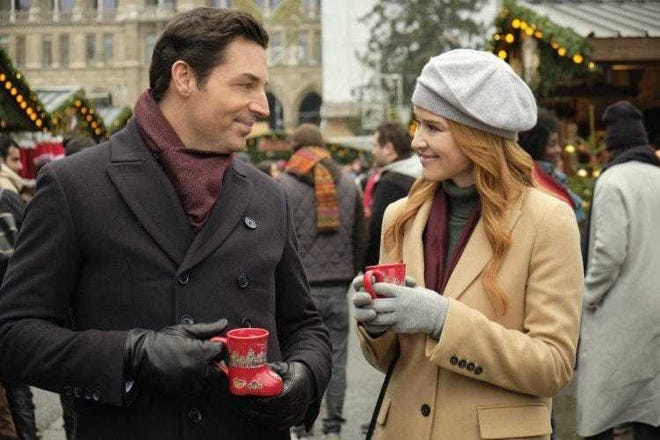 """A scene from """"Christmas in Vienna."""""""