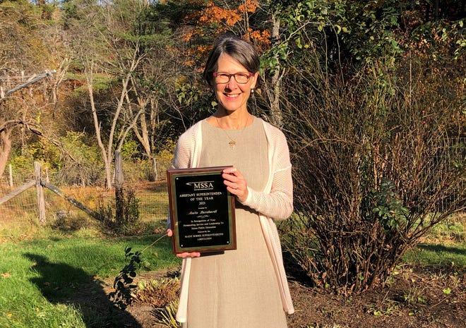 York Assistant Superintendent Anita Bernhardt was named Maine's 2021 Assistant Superintendent of the Year.
