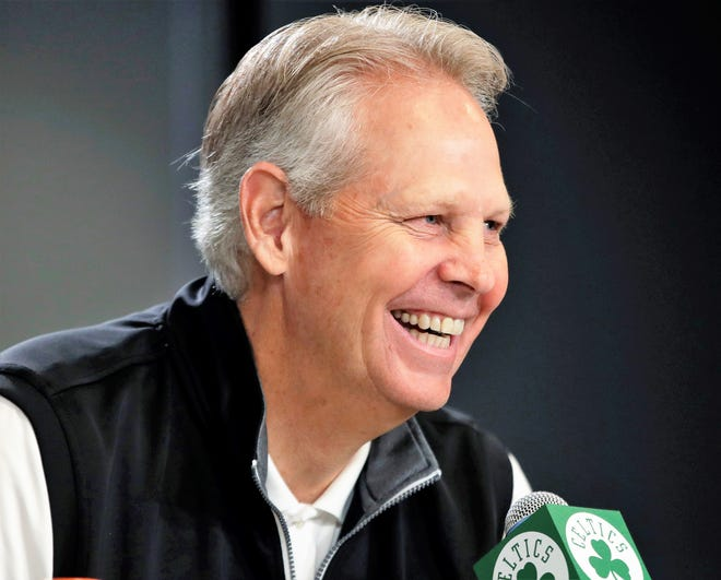 Boston Celtics basketball general manager Danny Ainge has three picks in the first round for Wednesday's NBA Draft.