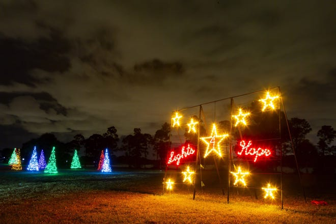 The non-profit Lights 4 Hope Inc., is putting on a mile-long, Drive Thru Holiday Light Show at Okeeheelee Park every Friday, Saturday and Sunday through Dec. 27.