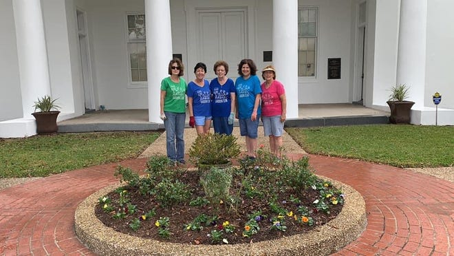 Plaquemine Garden Club has been involved in preserving and beautifying the Iberville Museum since its inception in 1998 by providing its first landscape plan.