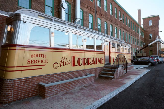 The Miss Lorraine Diner at 560 Mineral Spring Ave., Pawtucket, won a design award earlier this week.