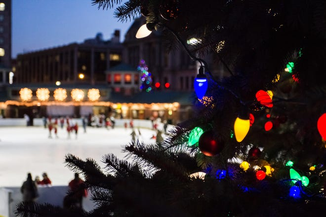 After a day of shopping in Downtown Providence, take in the lights and sights or skate away on the ice before a relaxing meal.