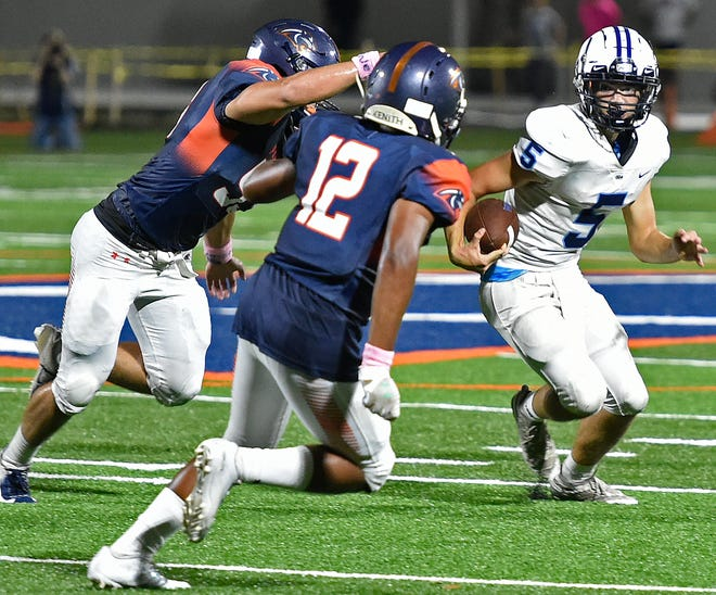 Out-of-Door Academy quarterback Tyler Beasley, who has been nursing an injury, is expected to be back for Saturday's SSAC Class A championship game against Jacksonville Bishop Snyder at Bryant Stadium in Lakeland