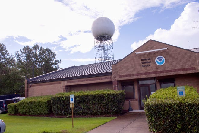 Cutline: Robert Fredrick a meteorologist with the National Weather Service in Newport said most of the flooding from the recent rain from Tropical Storm Eta will be centered near Kinston with flooding to be lighter near New Bern. He didn't foresee any major damage from the flood waters.