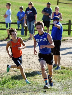 Jacob Pierick had a productive senior year for the Collins-Maxwell boys' cross country team this fall.