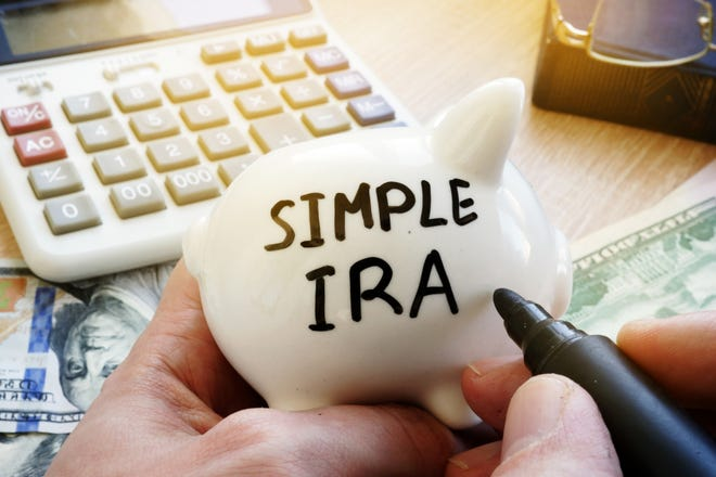 Small-business owners who want a lower-cost alternative to 401(ks)s for their employees could set up payroll deductions deposited into SIMPLE IRAs.