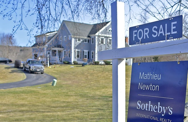 Single-family home prices are soaring in Worcester County and across the state. [T&G Staff/Steve Lanava]