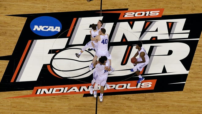 The NCAA announced Monday, Nov. 16, 2020, it plans to hold the entire 2021 men's college basketball tournament in one geographic location to mitigate the risks of COVID-19 and is in talks with Indianapolis to be the host city.