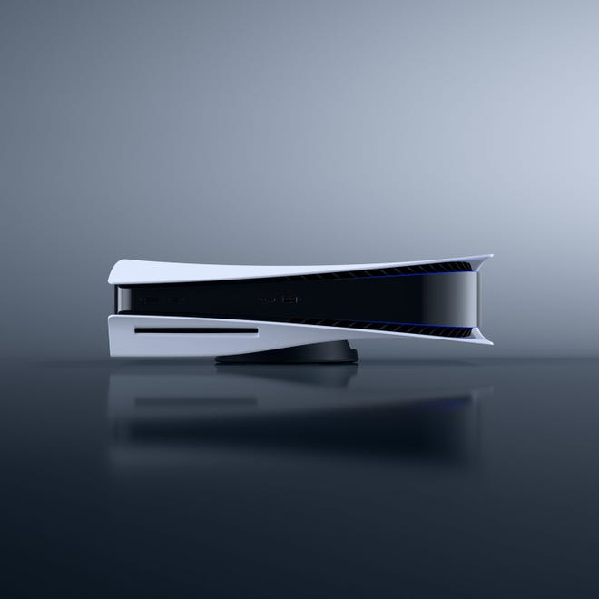 The PlayStation 5.