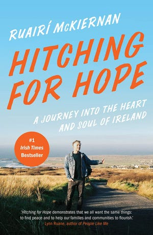 Ruairi McKiernan wrote his book after hitchhiking around Ireland during the country's 2013 recession and interviewing people about their struggles and their hopes to get back on their feet. [Courtesy photo]