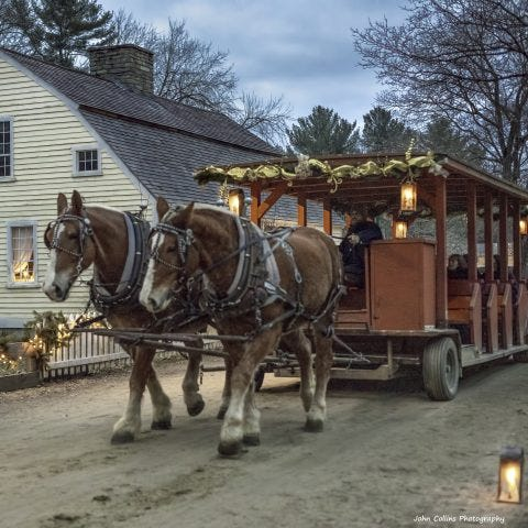 """Christmas by Candlelight"" returns to Old Sturbridge Village just in time for the holidays."