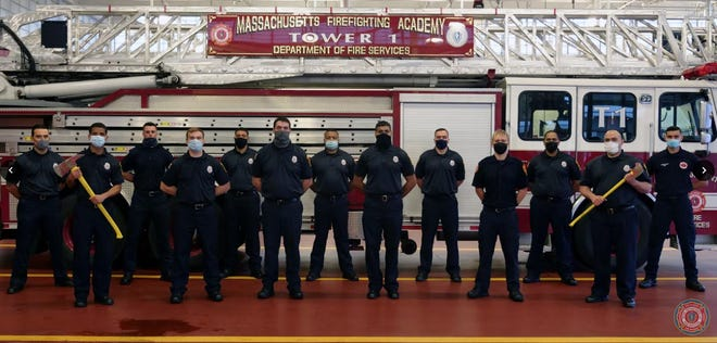 Three classes completed the Massachusetts Firefighting Academy's Career Recruit Firefighting Training Program including Eric Howard and Jeff Howard of Newton.