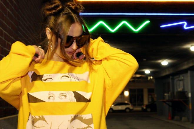 Sofia Ferrer in Regurando  (レグランド), a Japanese horror inspired streetwear line.